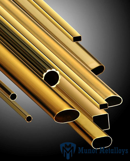 Admiralty Brass Square Pipes For Evaporators & Coolers
