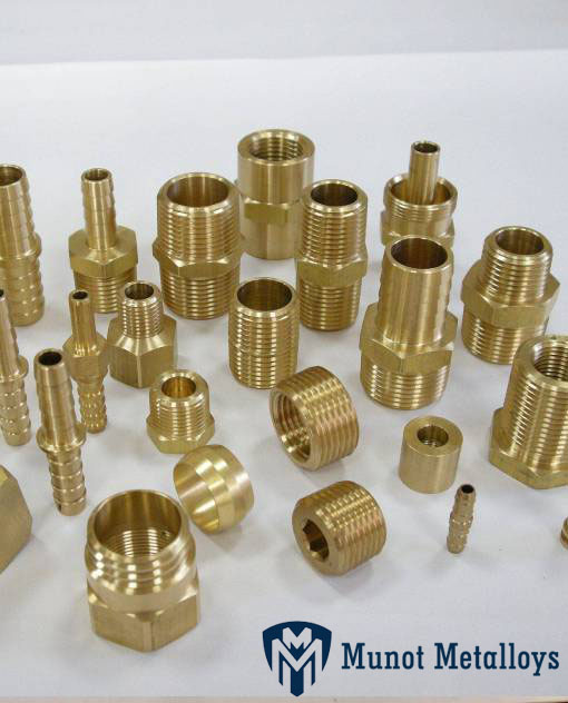 Brass Instrumentation Tube Fittings