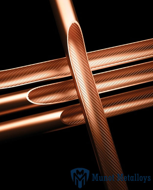 LWC inner grooved copper tube for ACR