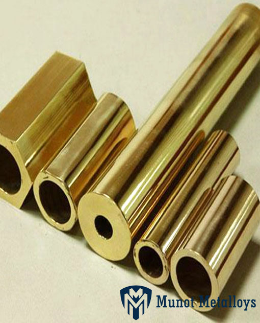 Hollow Square Brass Pipes
