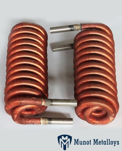 Copper Level Wound Coil For Condenser